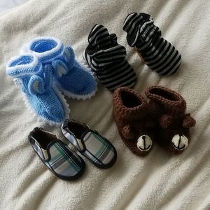 Baby booties haul 6-12months